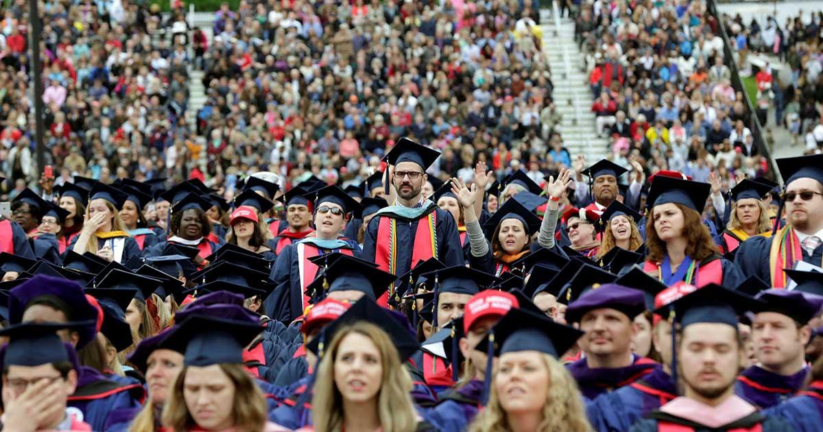 Một buổi lễ tốt nghiệp